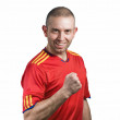 Spanish supporter — Stock Photo #9868007