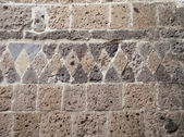 Wall decorated — Stock Photo