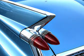 Detail of vintage car — Stock Photo