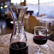 Glass of red wine in Naples — Foto de stock #9769824