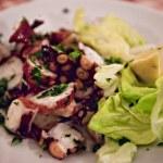 Octopus salad — Stock Photo #9812520