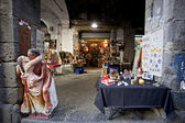 Gift Stores in Naples, near Spaccanapoli — Stock Photo