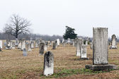 Country Graveyard — Stock Photo