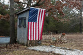 American Outhouse — Stock Photo
