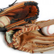 Baseball glove and cash — Stock Photo #9762554