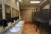 туалеты раковины — Стоковое фото