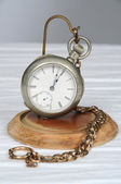 Vintage pocketwatch on stand — Stock Photo