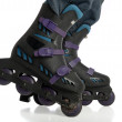 Rollerblade adjustment — Stock Photo