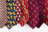 Outdated Ties — Stock Photo
