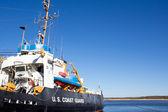 Coast Guard Boat — Stock Photo