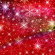 Christmas red background — Stock Photo #10073135