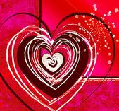 Vibrazioni di amore — Foto Stock