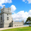 Torre de Belem, in Lisbon — Stock Photo #10103892