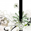 Abstract floral design — Stock Photo