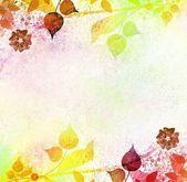 Старинный фон радостное листья — Стоковое фото