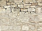 Used background of stone wall — Foto Stock