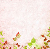 Floral vintage background — Stock Photo