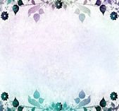 Romantic floral vintage background — Stock Photo