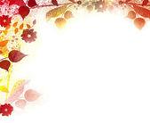 Květinové vinobraní pozadí — Stock fotografie