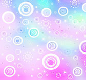 Pastel bubbles background — Stock Photo