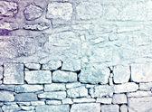 Carta da parati sgangherata del muro in pietra — Foto Stock