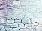 Grungy wallpaper of stone wall — Photo
