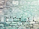 Výstřední tapeta kamenné zdi — Stock fotografie