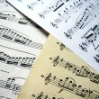 Music sheets — Stock Photo #10278274