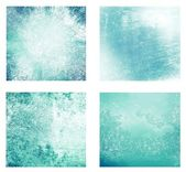 Set of 4 differents textured background — 图库照片