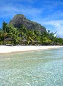 Paraíso de isla mauricio — Foto de Stock