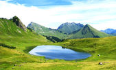 Lac de roy, in France — Stock Photo
