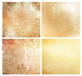Set of 4 different events backgrounds — Stock Photo