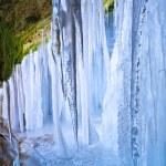 Icefall inside — Stock Photo #9681159