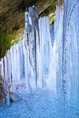 Icefall inside — Stock Photo