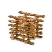 Sticks with poppy seeds — Stock Photo