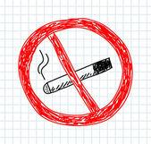 не курить — Cтоковый вектор