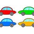 Collection of cars - Imagen vectorial