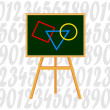Stock Vector: Blackboard