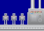 Three new robots — Stock Vector