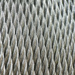 Stock Photo: Galvanized wire rope