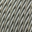 Galvanized wire rope — Stock Photo