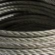 Galvanized wire rope — Stock Photo #9792323