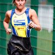 Woman triathlete — Stock Photo #9728550