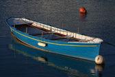 Blue boat — Foto de Stock