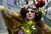 Woman at the Venice Carnival — Stock Photo