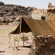 Stock Photo: Berber tent in Moroco