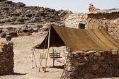 A berber tent in Moroco — Stock Photo