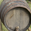 Stock Photo: Oak barrel