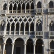 Facade of the Ca d'Oro Palace , Venice. — Stock Photo