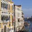Palazzo Cavalli-Franchetti and historic buildings - Stock Photo